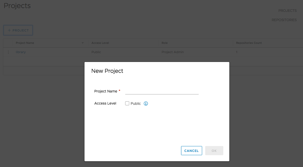 harbor-create-project