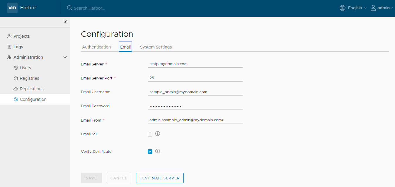 new-config-email